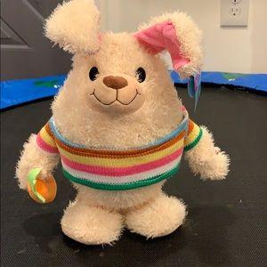 "Goffa Cottondale Dancing Rabbit Bunny ""Love Bunny"""